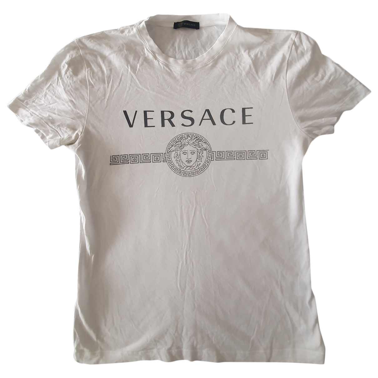 Versace \N White Cotton T-shirts for Men S International