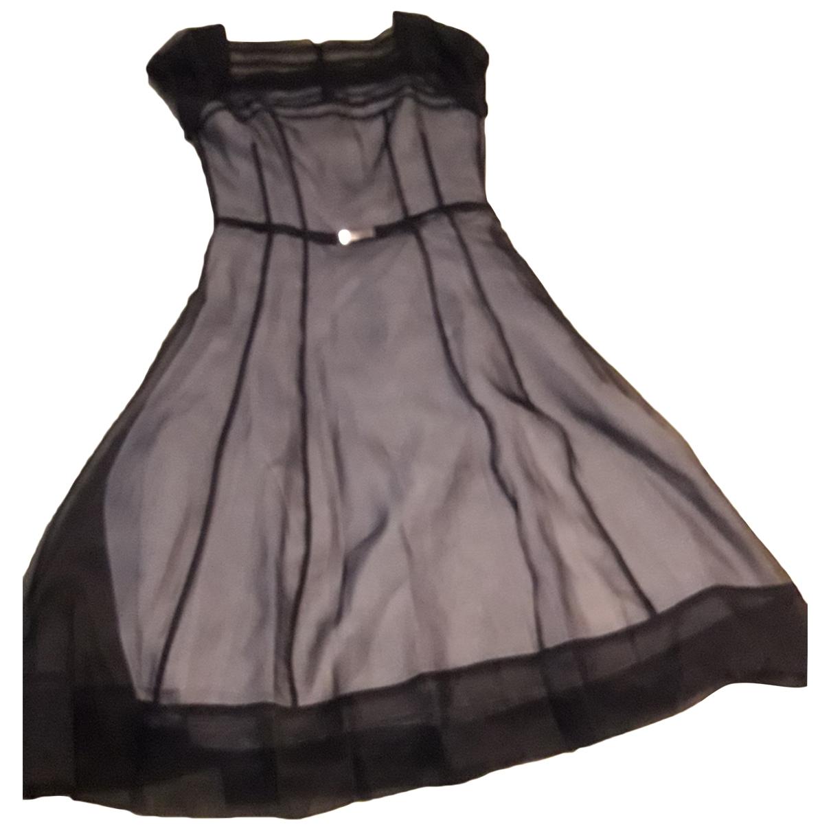 Hugo Boss \N Black Silk dress for Women 42 IT