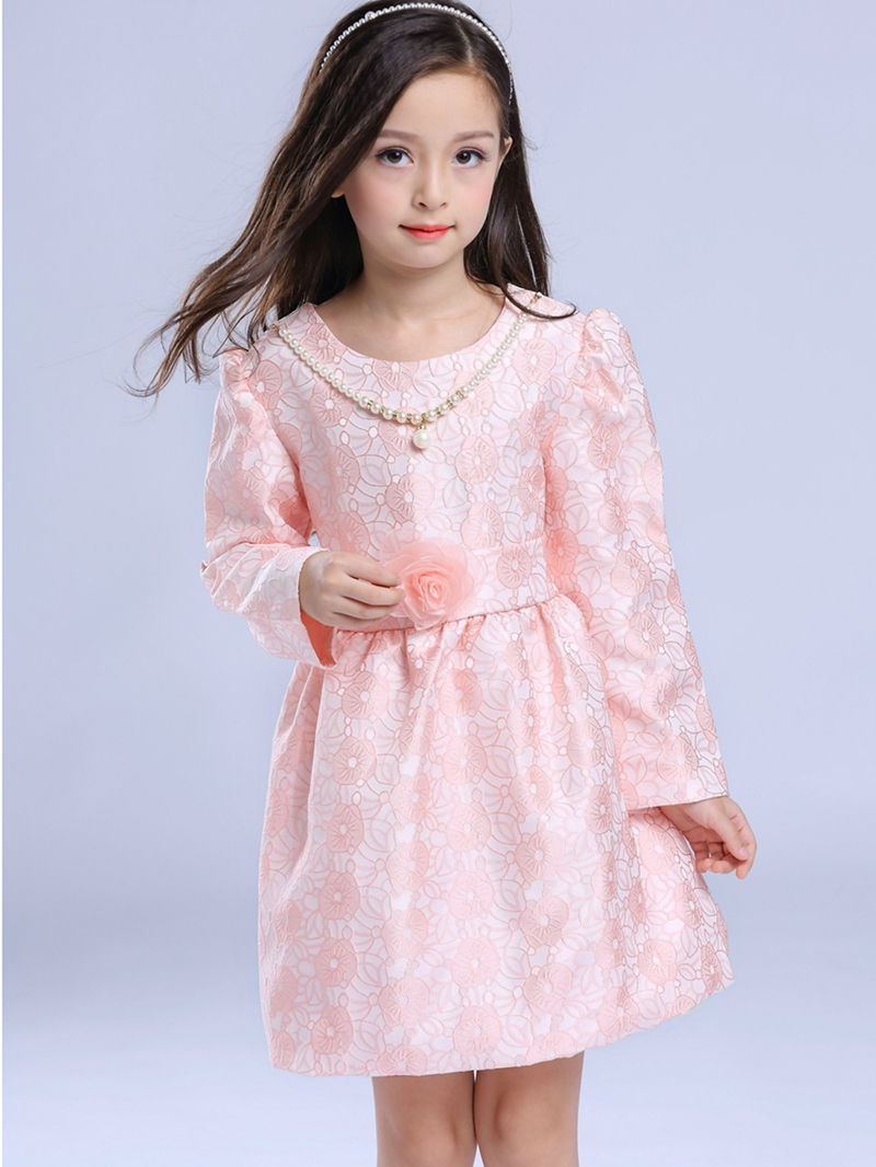 Ericdress Lace Necklace Princess Girls Dress