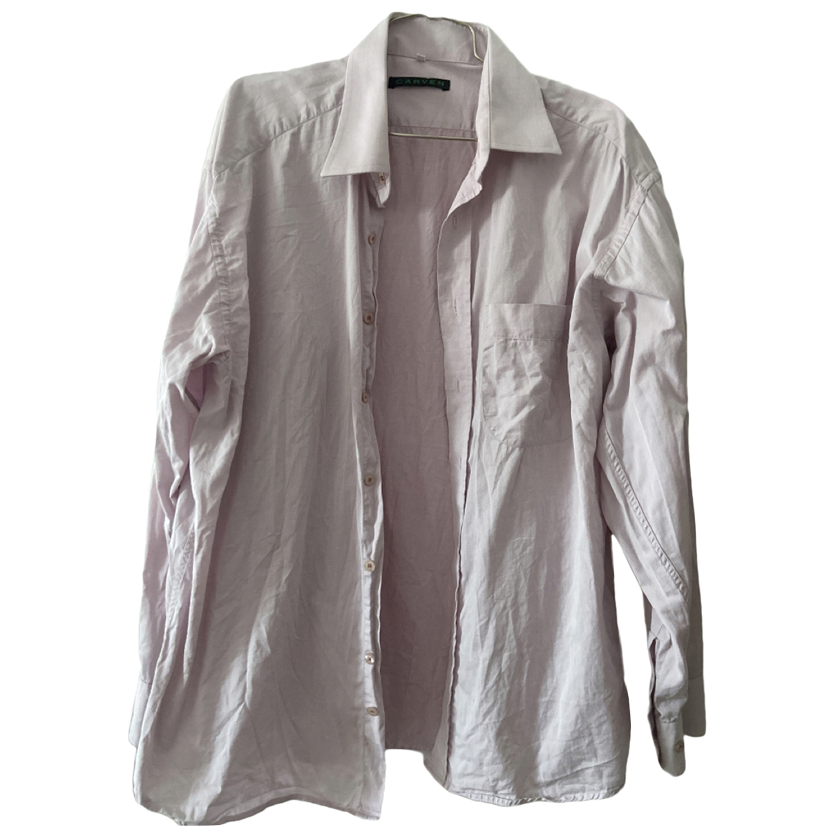 Carven \N Pink Cotton  top for Women 38 FR