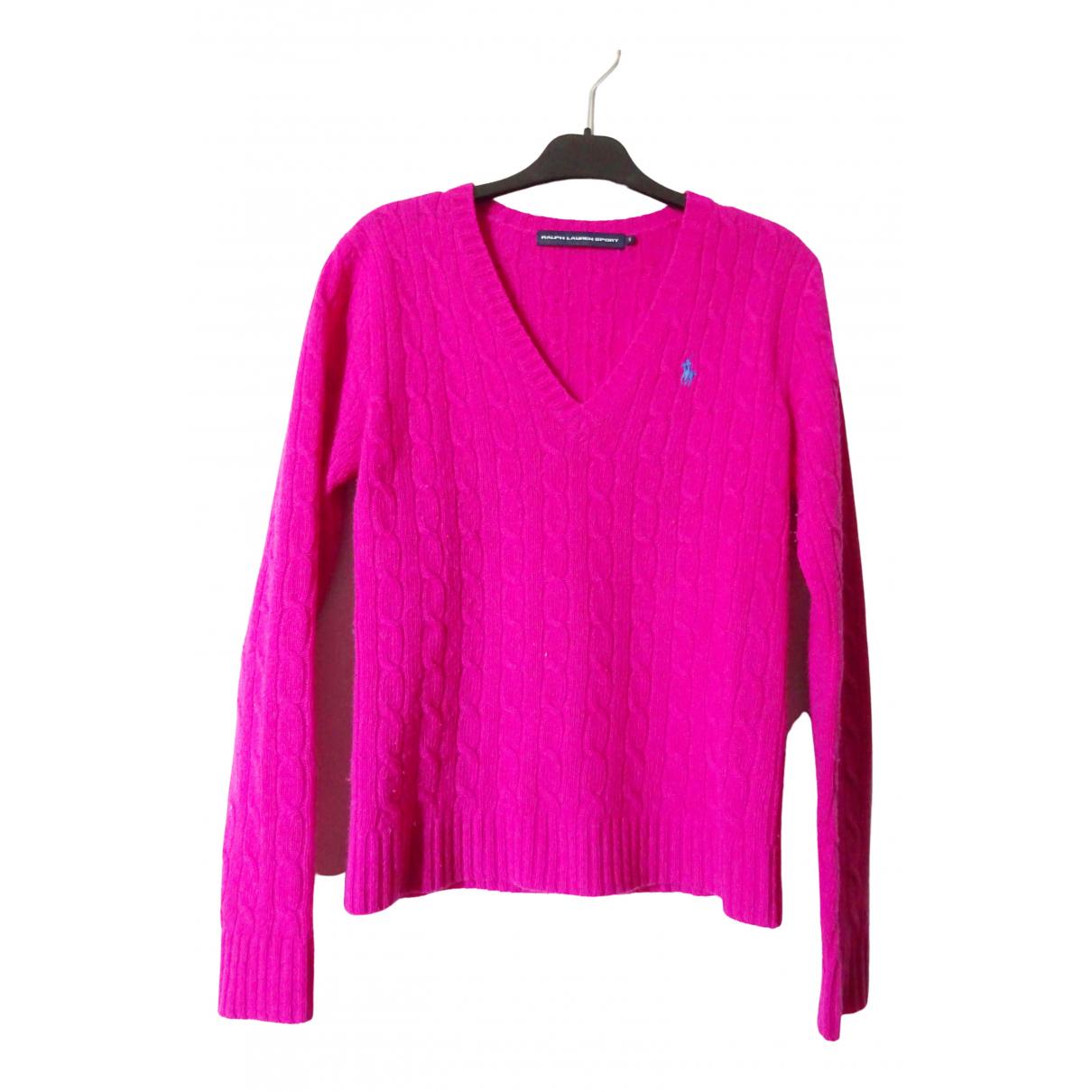 Ralph Lauren \N Pink Wool Knitwear for Women 36 FR