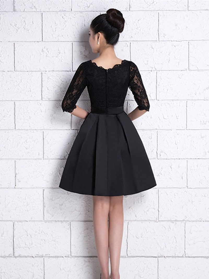 Ericdress Half Sleeve Lace Cocktail Dress