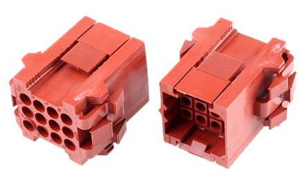 TE Connectivity , Metrimate Female Connector Housing, 5mm Pitch, 12 Way, 4 Row (5)