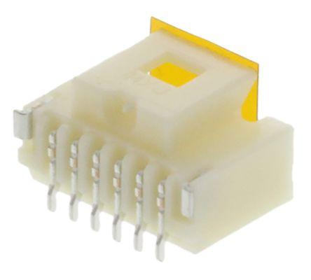 Molex , Pico-Clasp, 501331, 6 Way, 1 Row, Straight PCB Header (10)