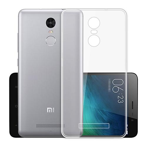 Soft Case Protective Phone Shell Transparent Back Cover For XIAOMI Redmi Note 3
