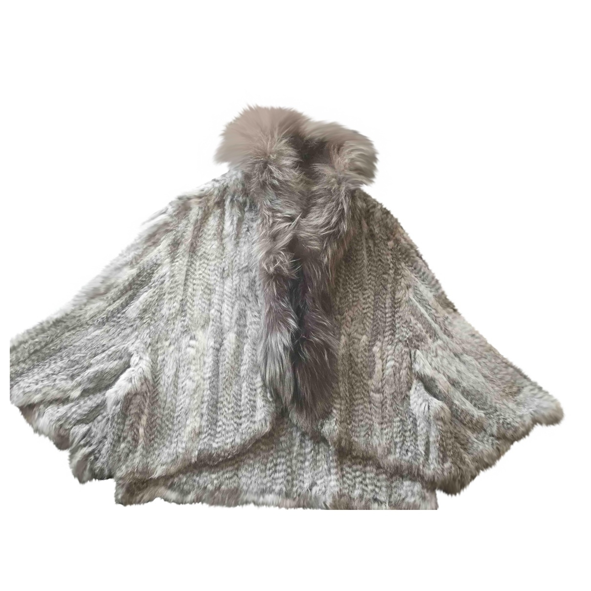 Non Signé / Unsigned \N Grey Rabbit jacket for Women L International