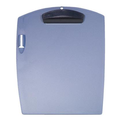 Storex Clip & Carry Clipboard With Pen Holder - Blue