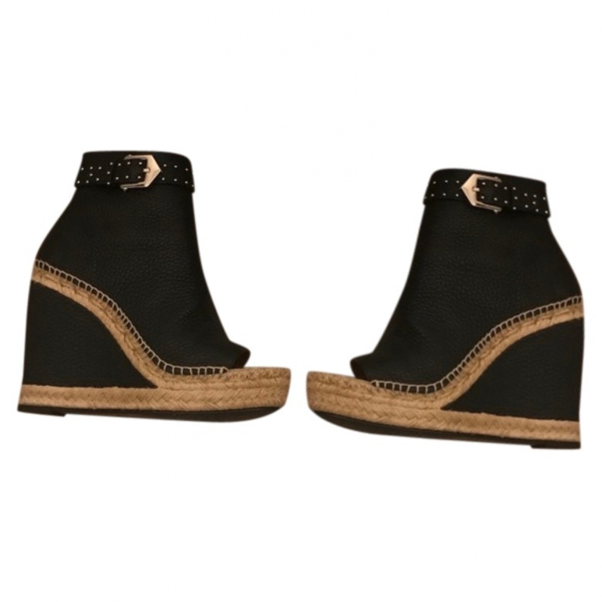 Givenchy \N Black Leather Ankle boots for Women 40 EU