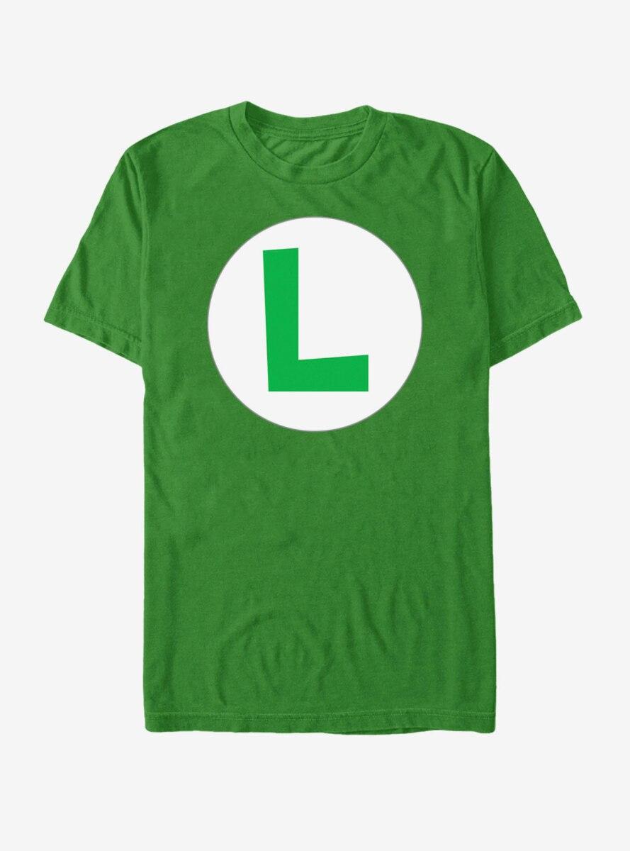 Nintendo Luigi Circle Icon T-Shirt