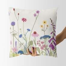 Floral Print Cushion Cover