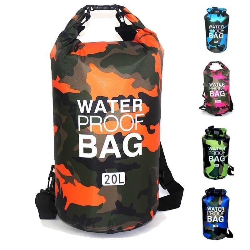 Men Outdoor Waterproof HandbagLarge Capacity Bags