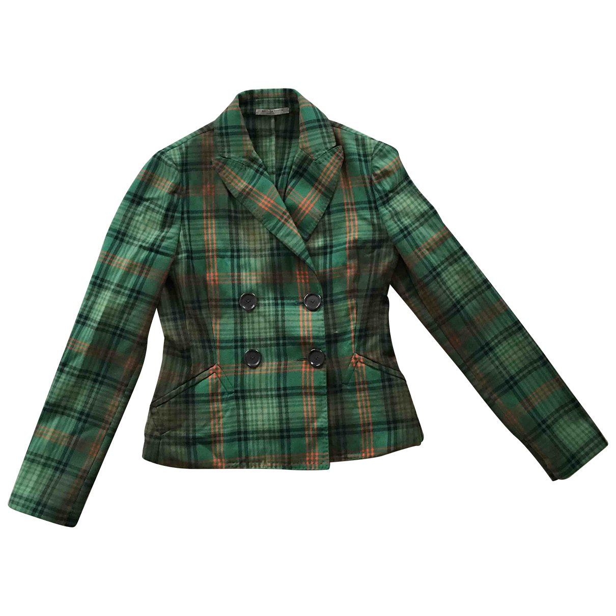 Bottega Veneta \N Green Wool jacket for Women 42 IT