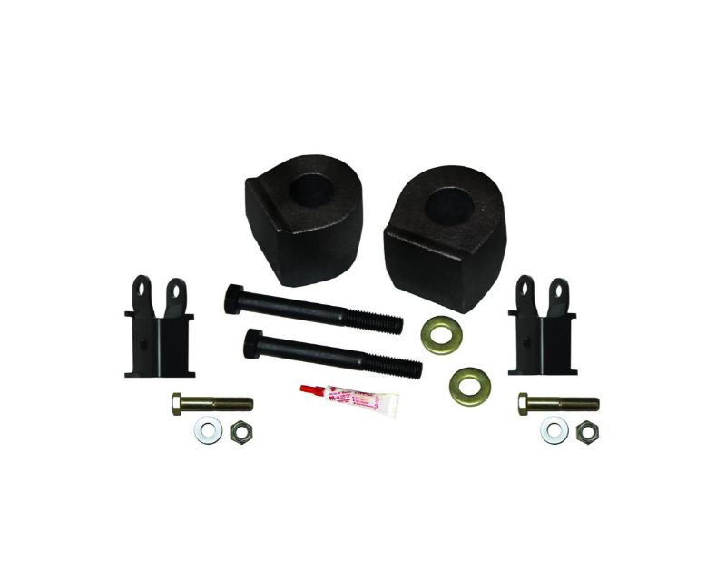 Skyjacker F1752MSB Lift Kit Front 2.5 Inch Lift w/Metal Coil Spring Spacers/Shock Extension Brackets 17-19 Ford F-250/ F-350 Super Duty