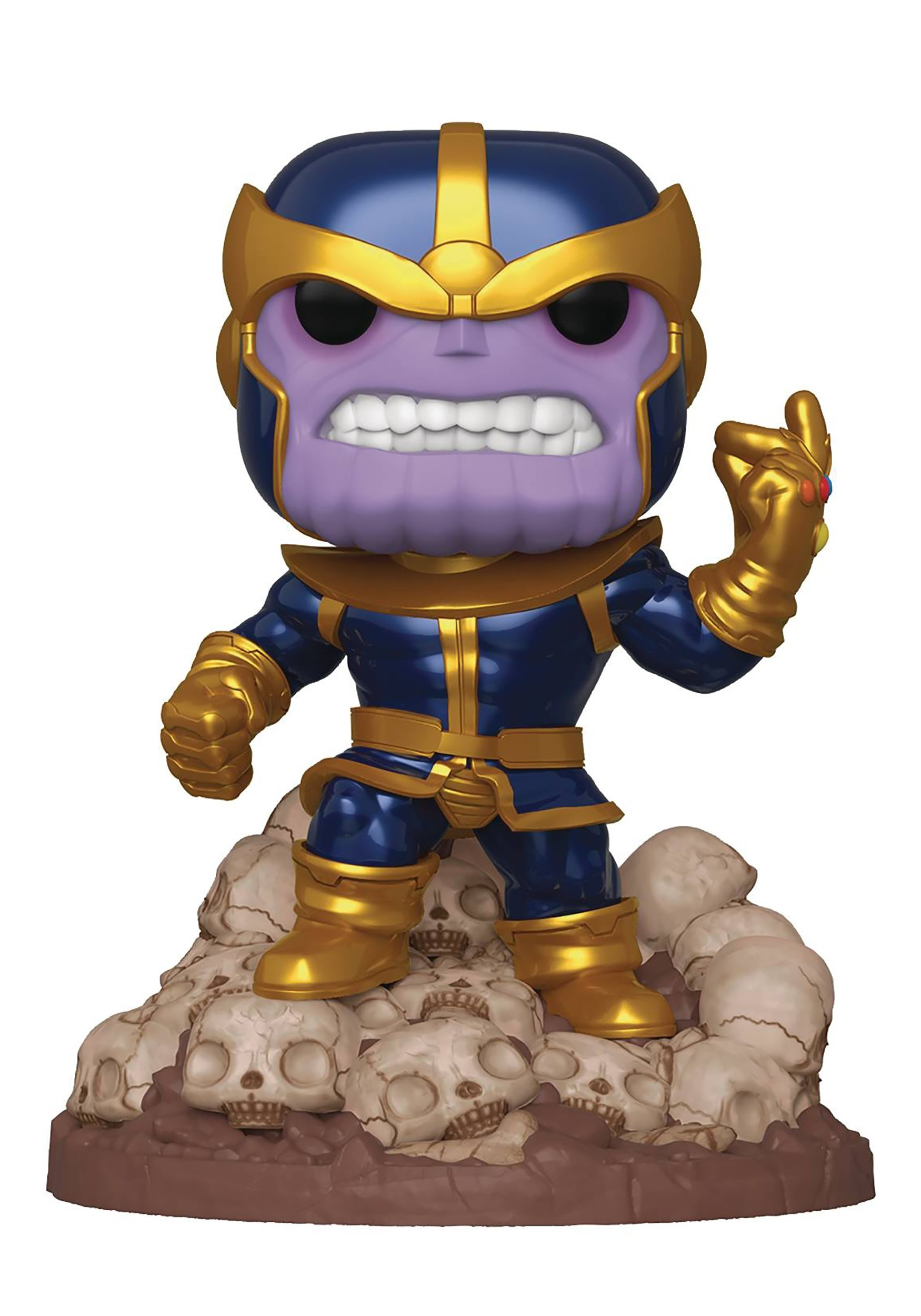 POP Marvel Heroes Thanos Snap 6in PX Deluxe Vinyl