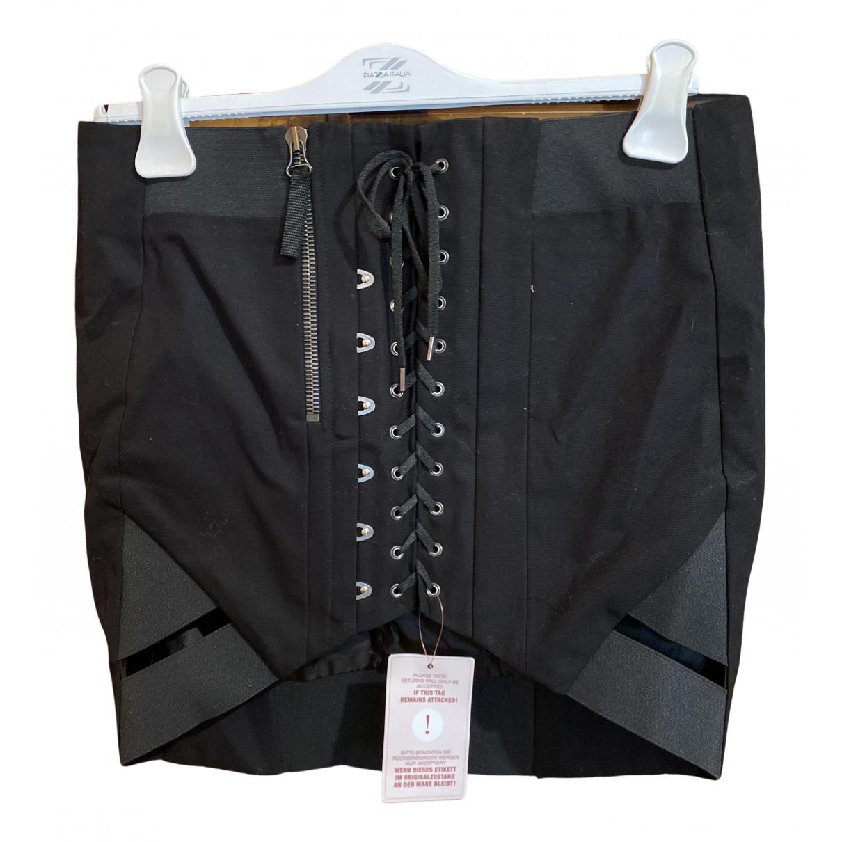 Anthony Vaccarello \N Black skirt for Women 40 FR