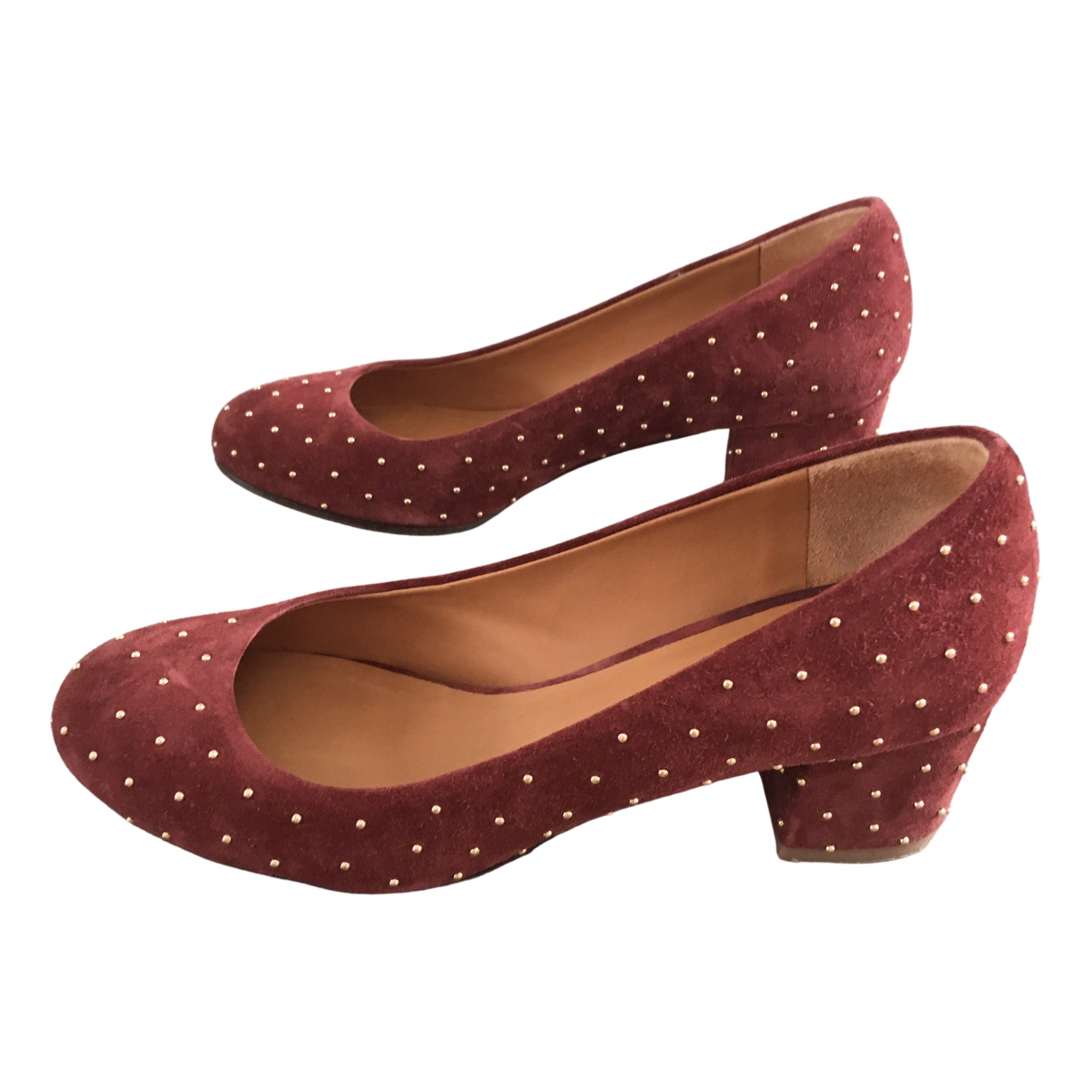 Sézane \N Leather Heels for Women 36 EU