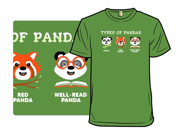 Important Panda Information T Shirt