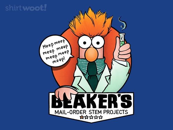 Beaker's Mail-order Stem Projects T Shirt