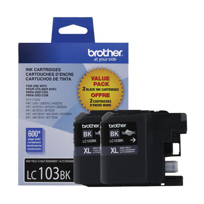 Brother LC1032PKS Original Black Ink Cartridge High Yield