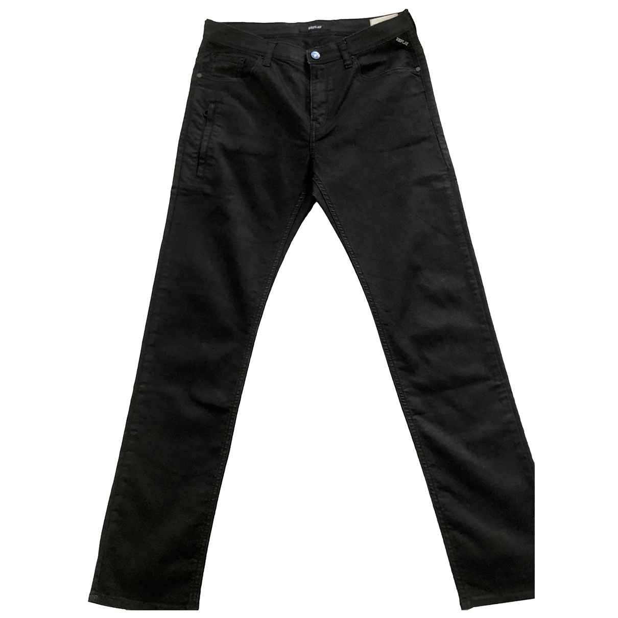 Replay \N Black Cotton Trousers for Kids 14 years - S UK