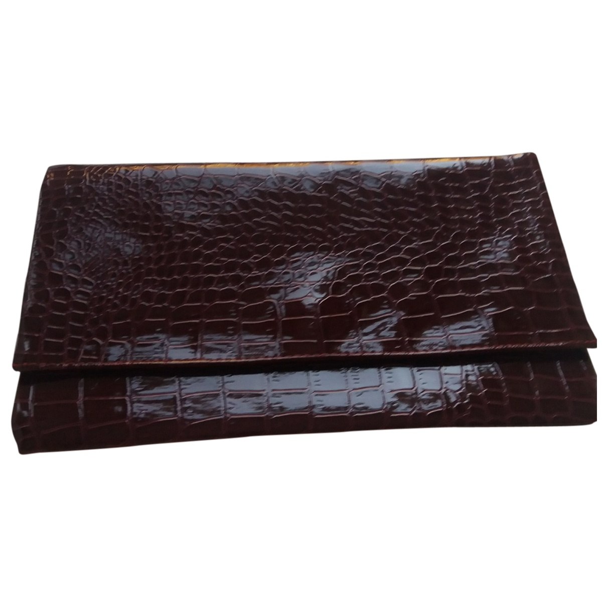 Non Signé / Unsigned \N Leather Clutch bag for Women \N