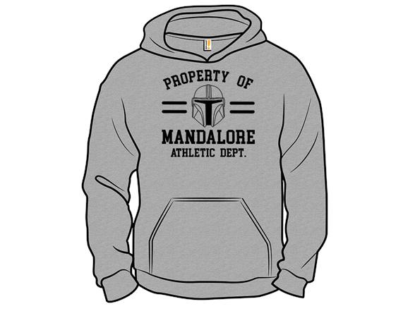 Property Of Mandalore Zip Hoodie
