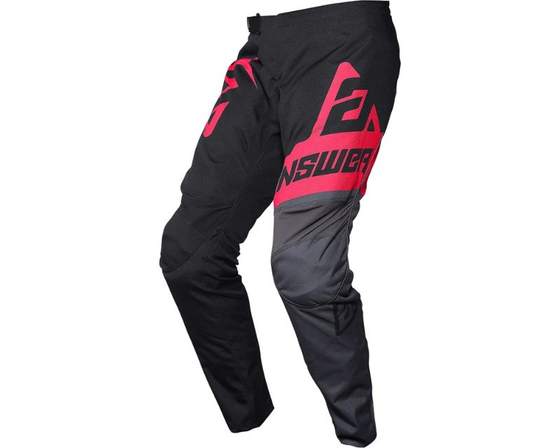 Answer 444956 A20 Syncron Voyd Pants Black Charcoal Pink Y26