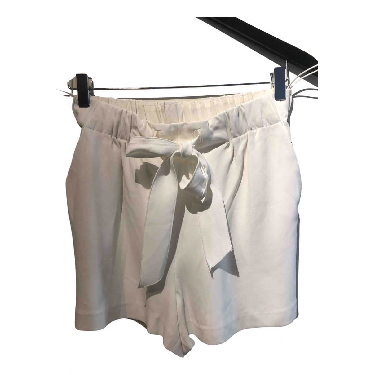 Forte_forte N White Shorts for Women 1 US