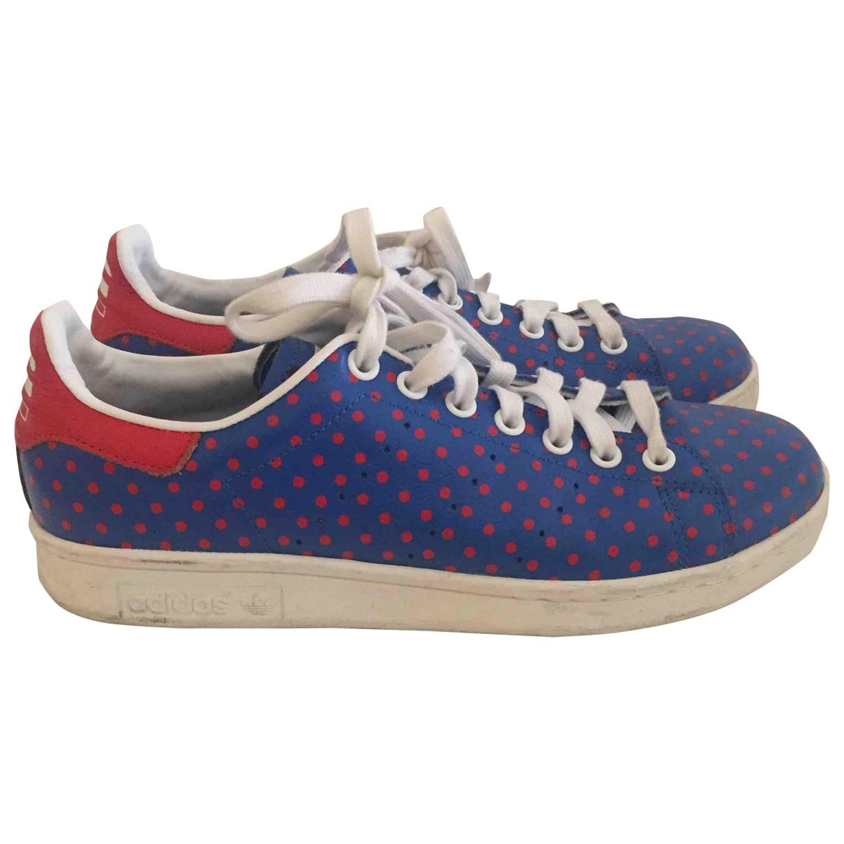 Adidas X Pharrell Williams \N Leather Trainers for Women 40.5 EU