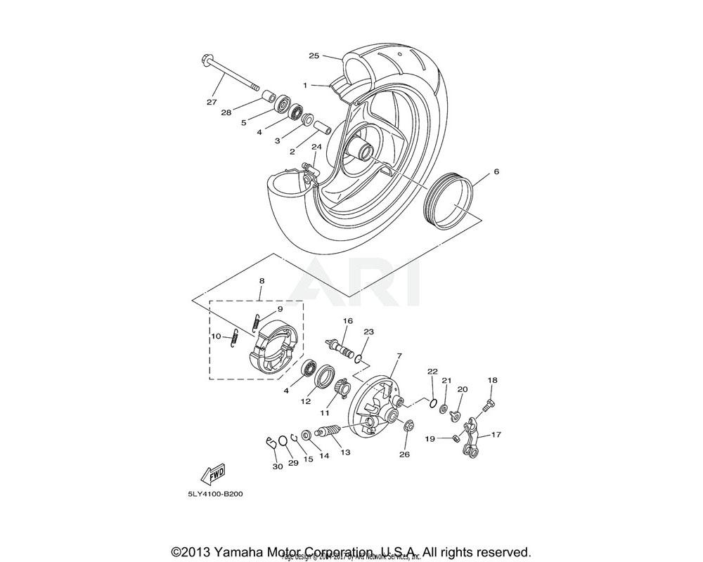 Yamaha OEM 90560-10289-00 SPACER