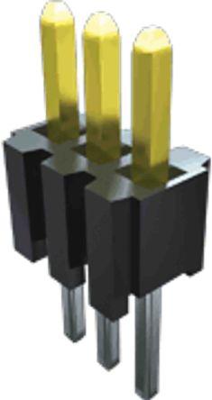 Samtec , TMS, 15 Way, 1 Row, Straight PCB Header (30)