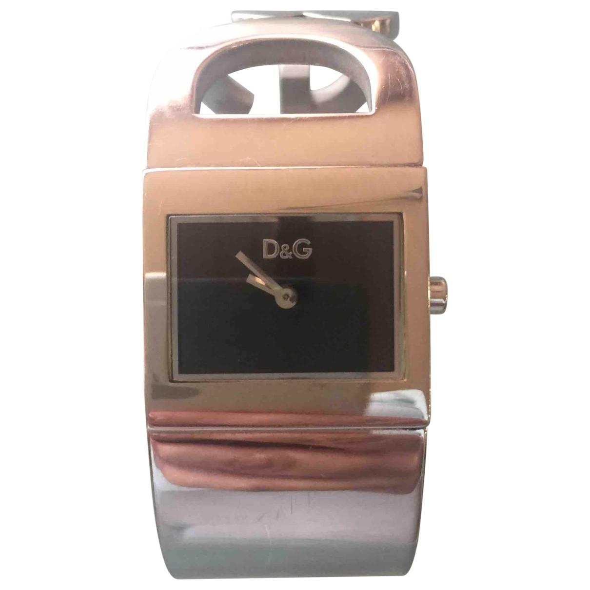Dolce & Gabbana \N Metallic Steel watch for Women \N