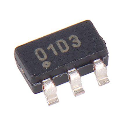 Microchip MTCH101T-I/OT , Capacitive Touch Sensor, 2 → 5.5 V 6-Pin SOT-23 (25)