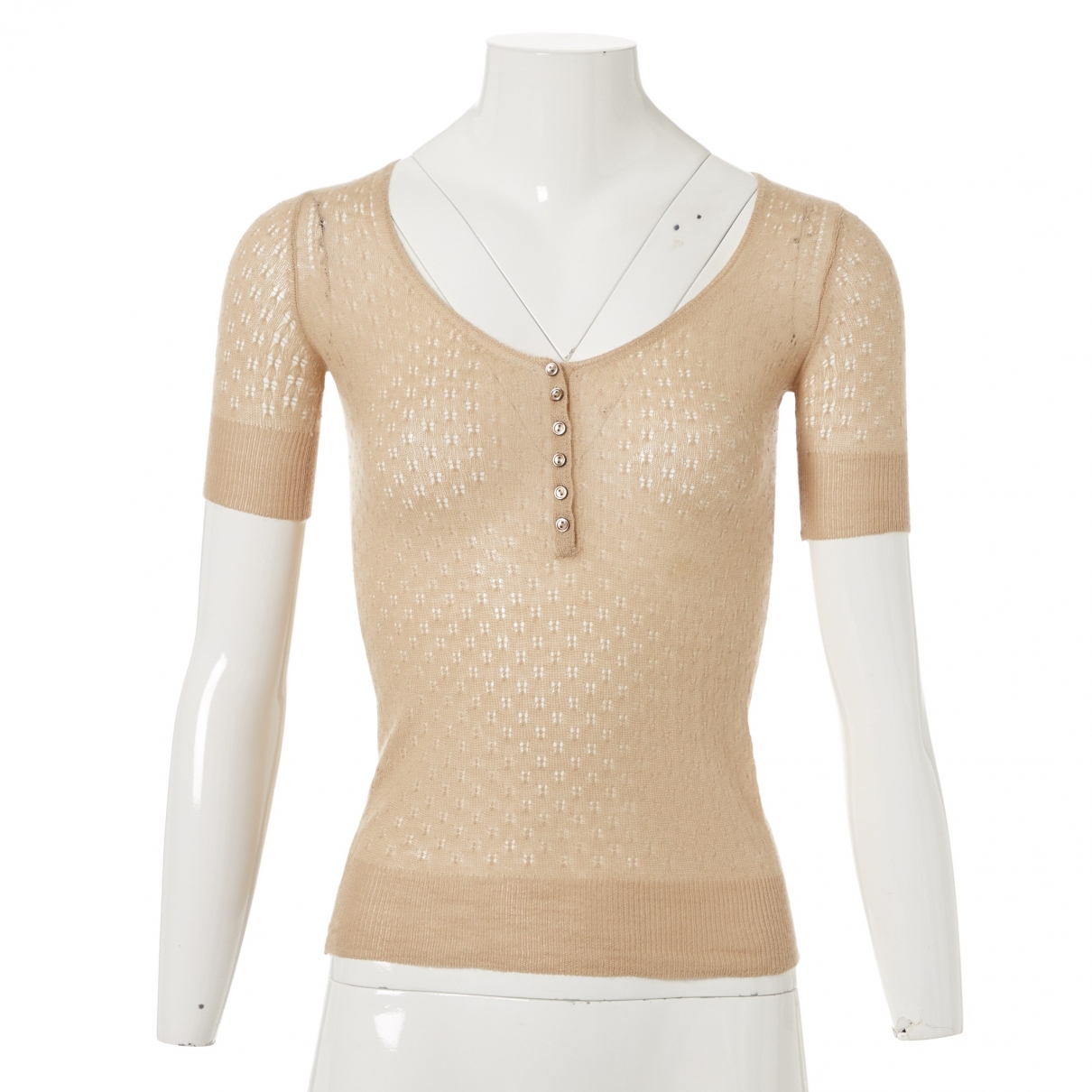 Louis Vuitton \N Beige Cashmere Knitwear for Women S International