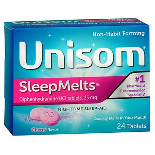 Unisom Sleepmelt Cherry 24 tabs by Unisom