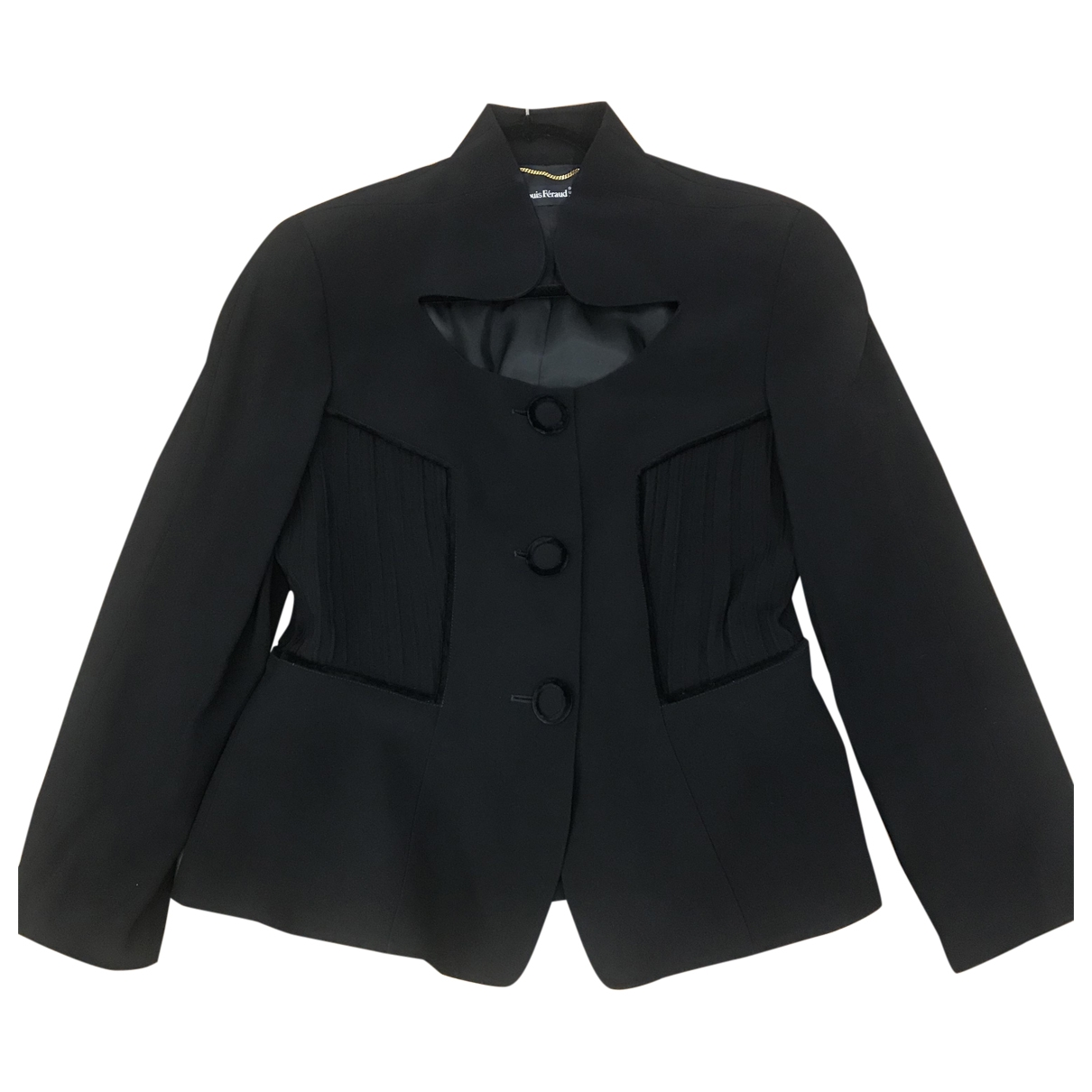 Louis Feraud \N Black jacket for Women 44 FR