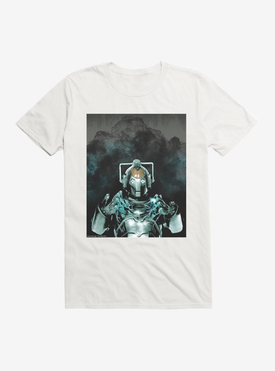 Doctor Who Cybermen Explosion T-Shirt
