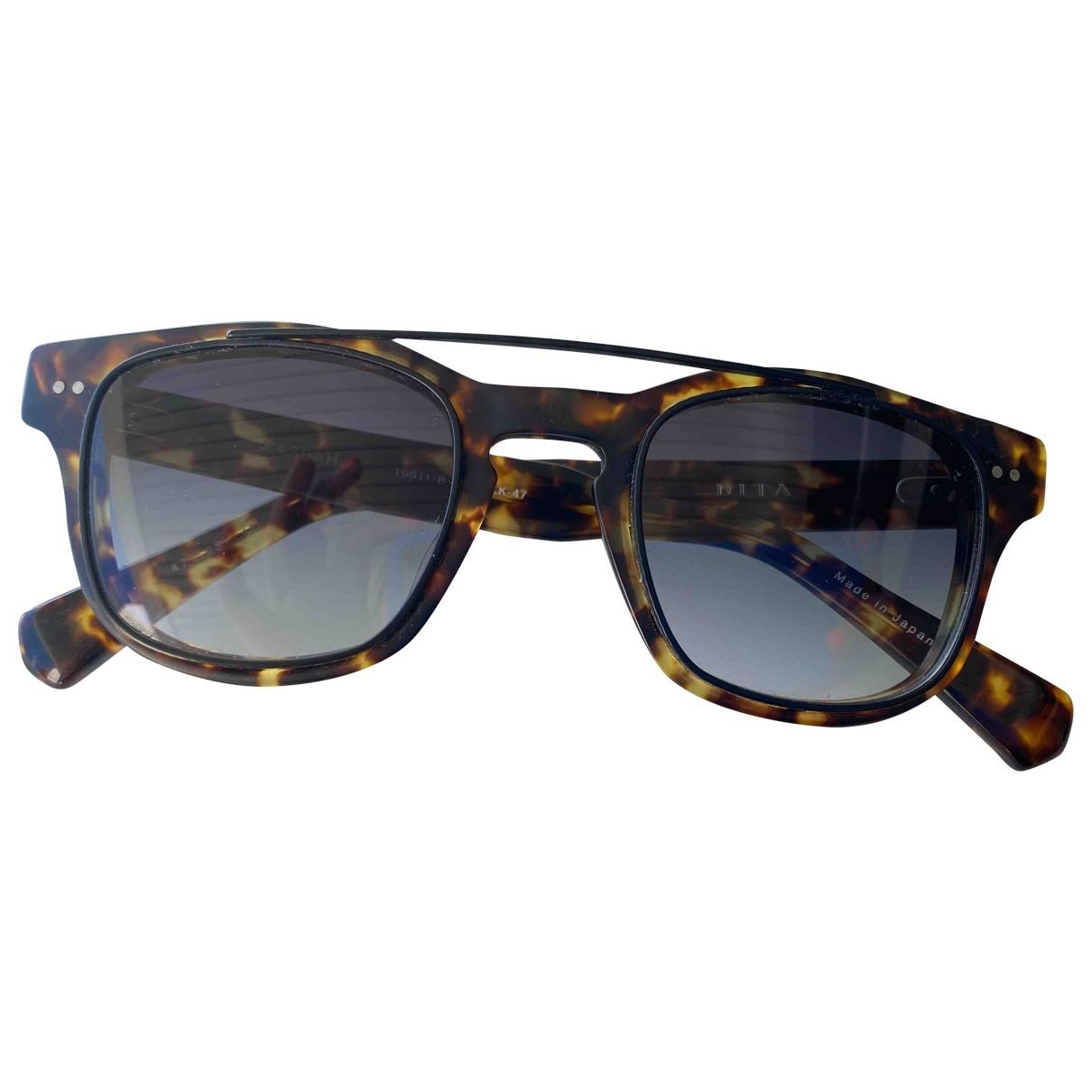 Dita \N Brown Sunglasses for Women \N