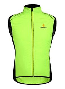 Male Windproof Outdoor Road Bike Jersey Breathable Cycling Shell Vest Jersey