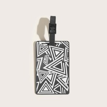 Geometric Graphic Bag Accessory