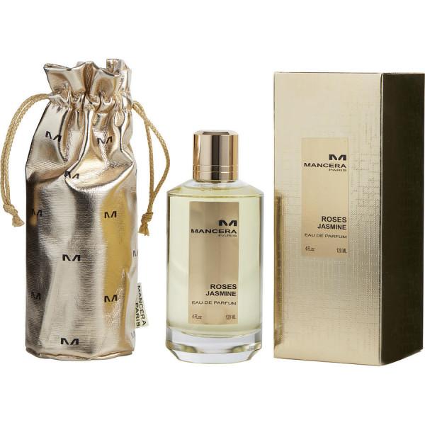 Mancera - Roses Jasmine : Eau de Parfum Spray 4 Oz / 120 ml