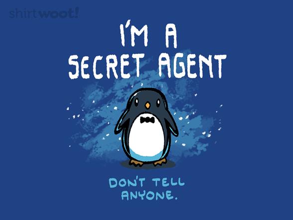 Not So Secret Agent T Shirt