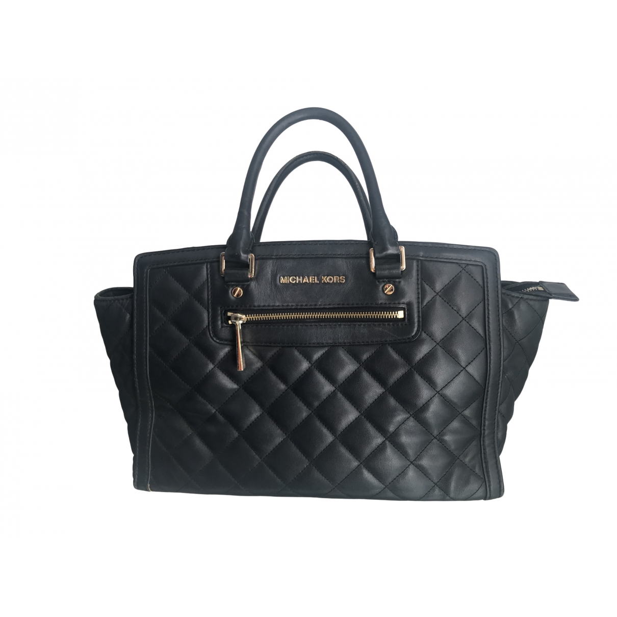 Michael Kors Selma Black Leather handbag for Women \N