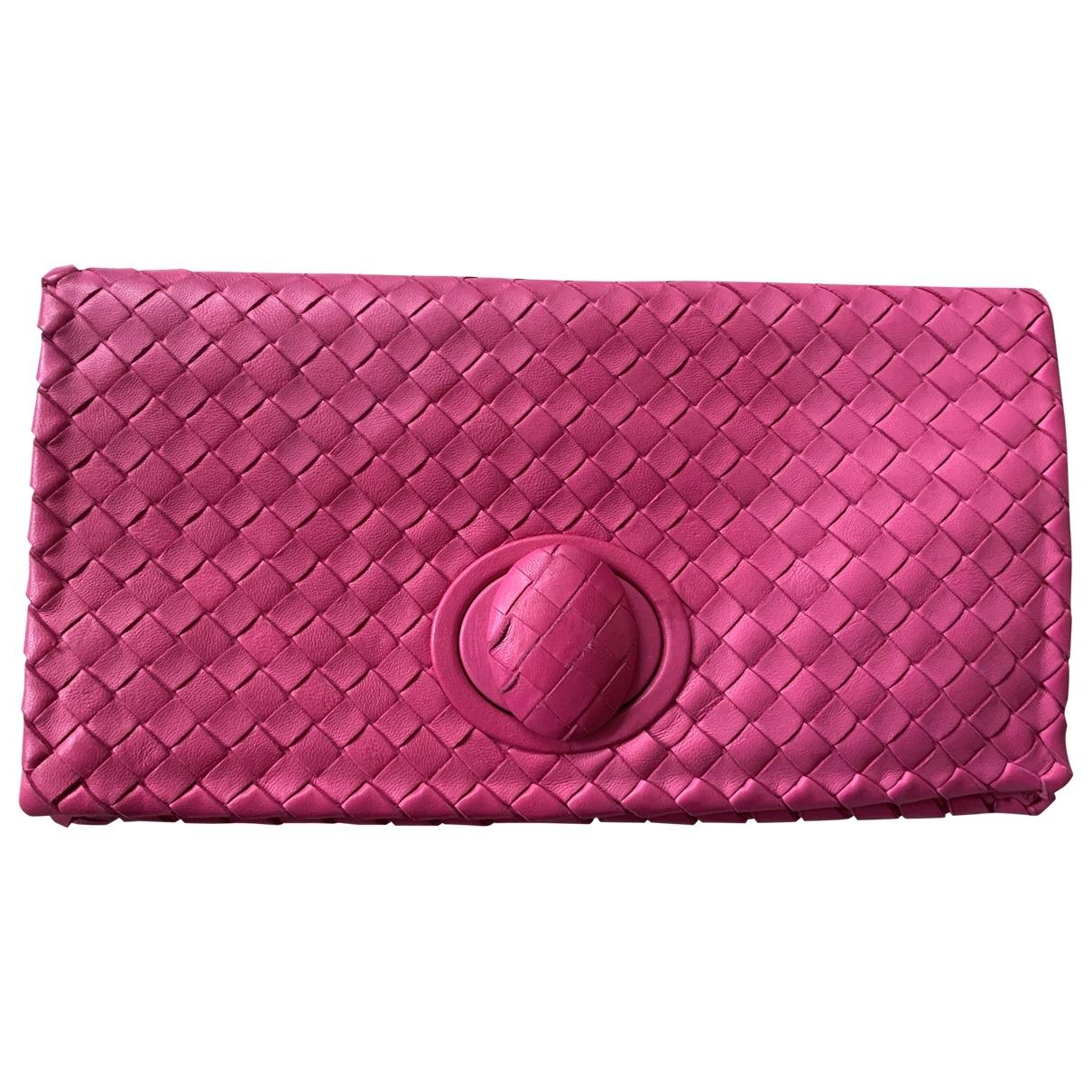 Bottega Veneta \N Leather Clutch bag for Women \N