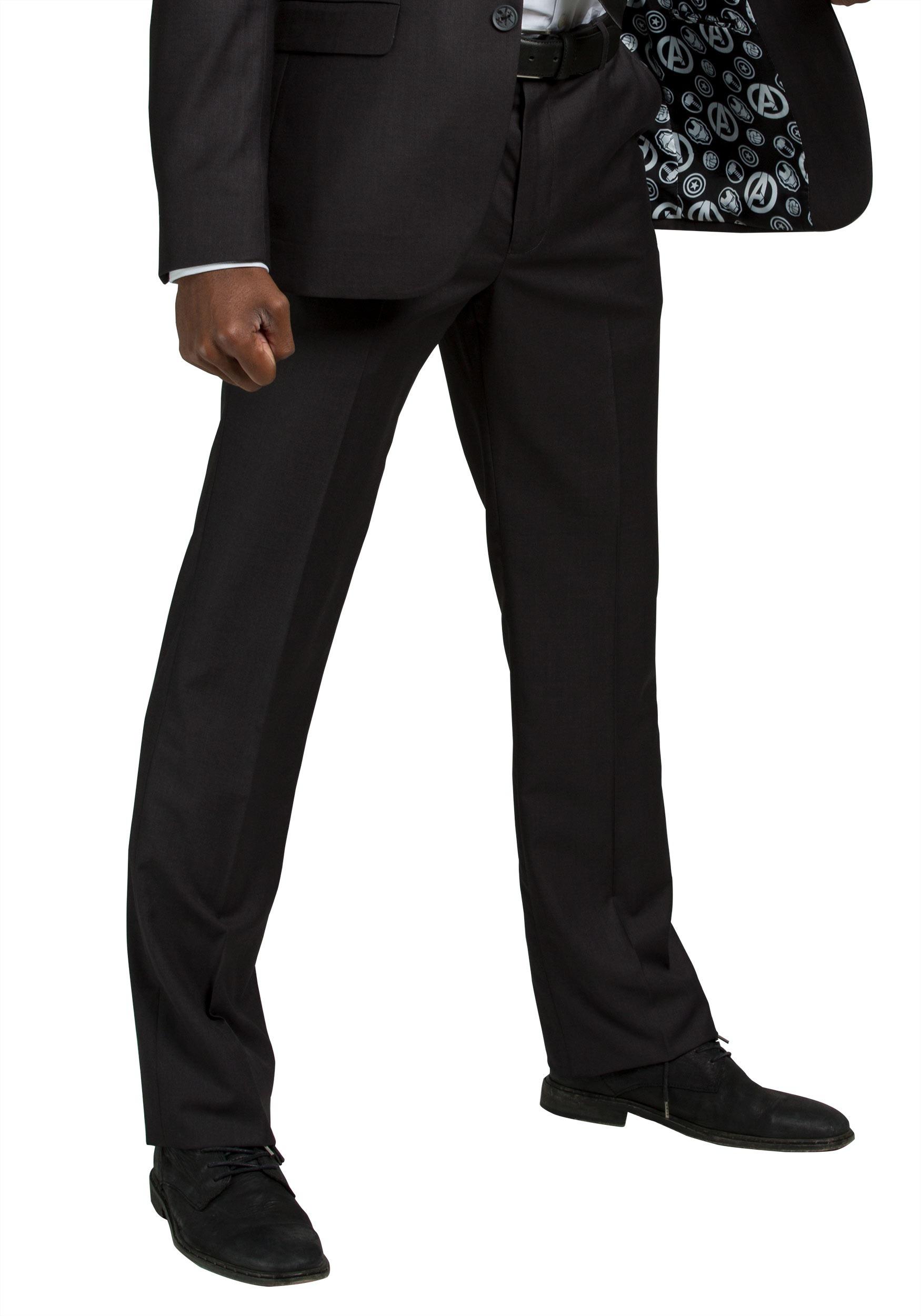 Secret Identity Avengers Slim Fit Suit Pants