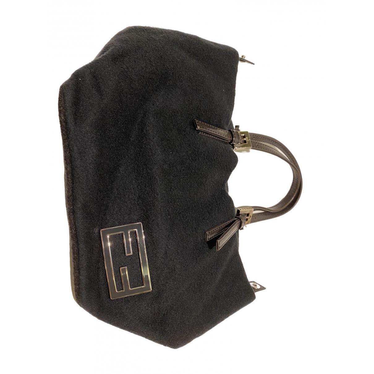Fendi \N Grey Suede handbag for Women \N