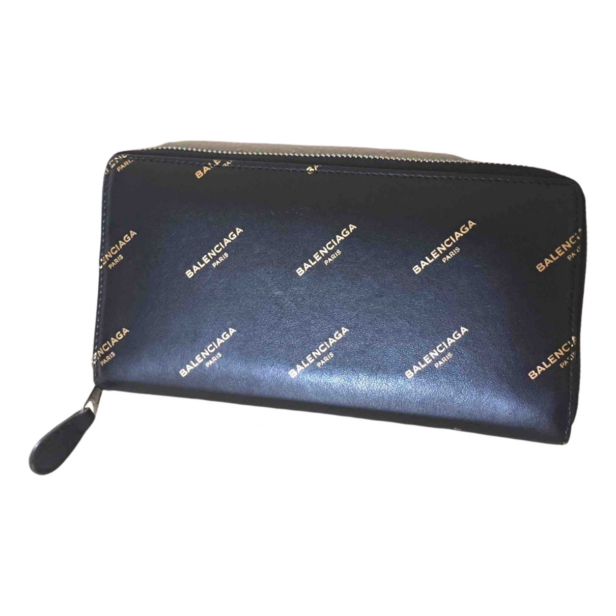 Balenciaga \N Black Leather wallet for Women \N