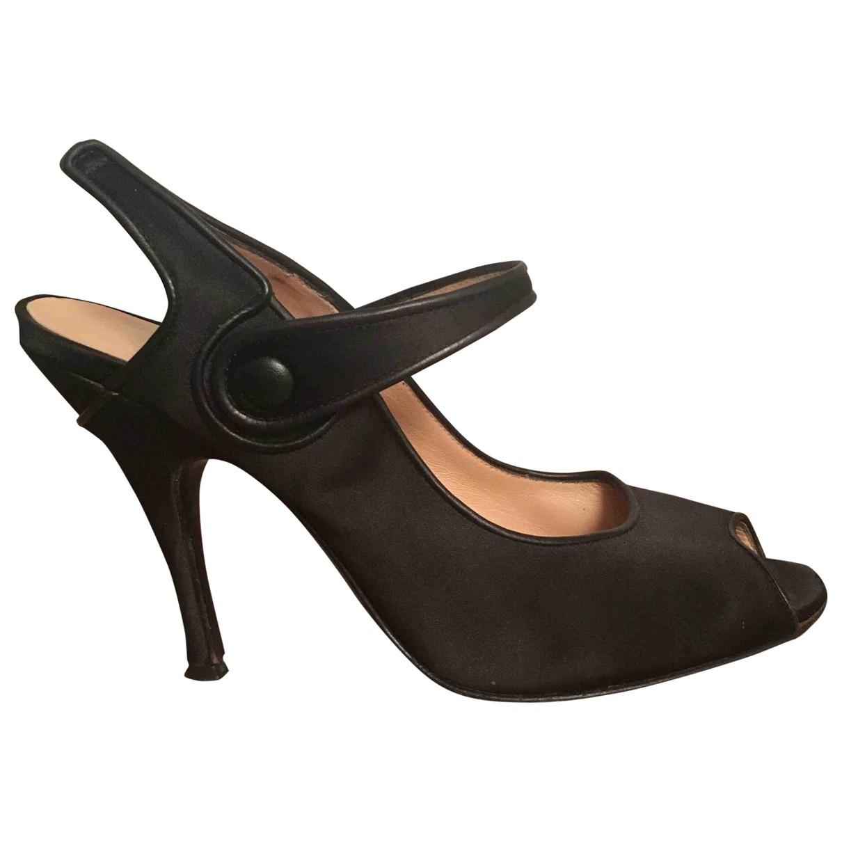 D&g \N Black Leather Heels for Women 38.5 EU