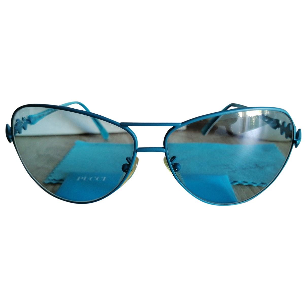 Emilio Pucci \N Multicolour Metal Sunglasses for Women \N