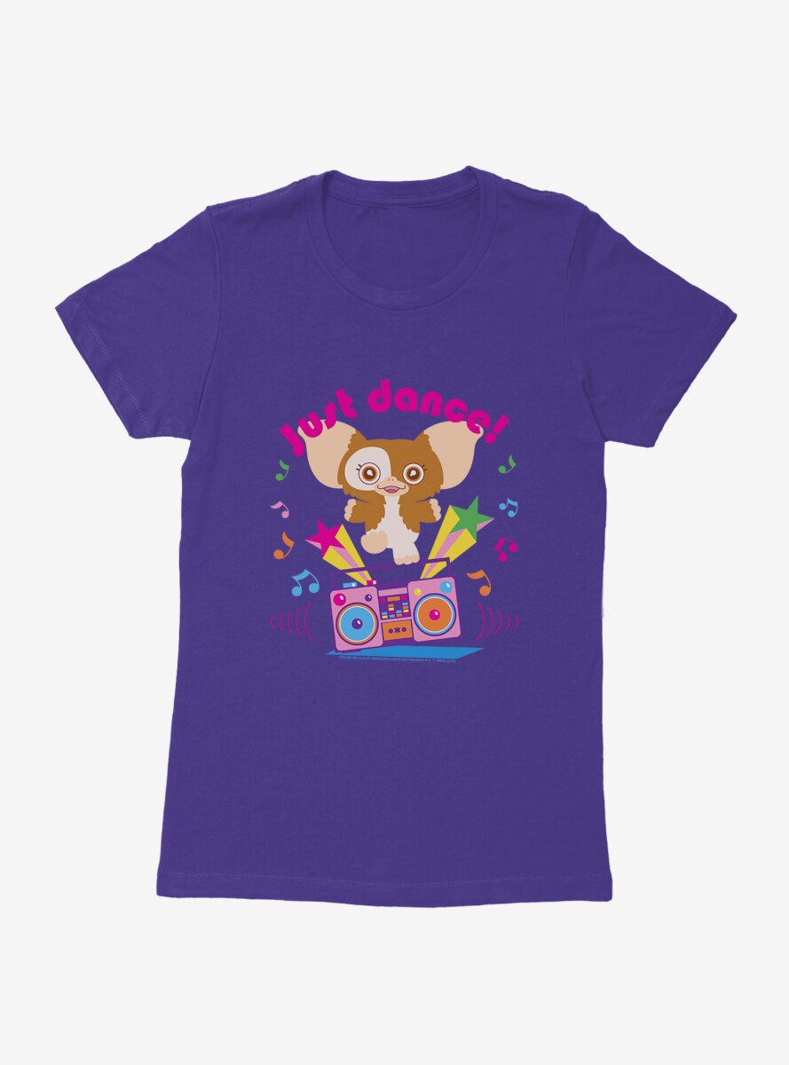 Gremlins Gizmo Just Dance Party Womens T-Shirt